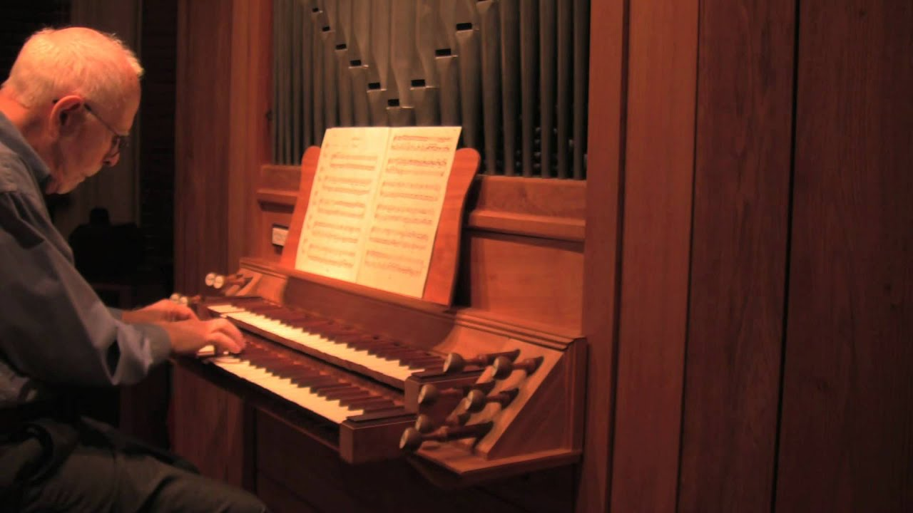 Three Magnificat Fugues by Johann Pachelbel. SF Bonedoc playing A.David Moore organ Opus 27.