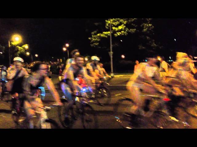 Portland Oregon Naked Bike Ride 2012