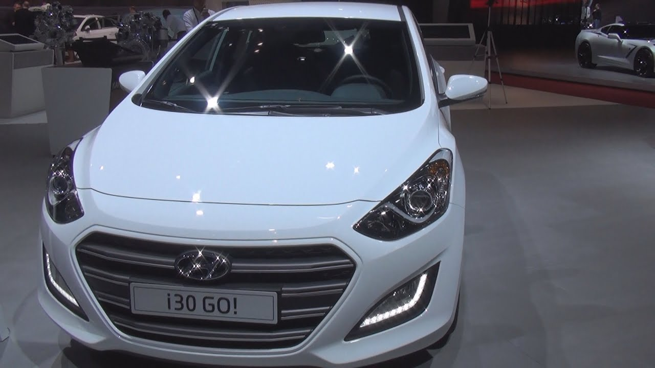 Hyundai i30 16 CRDi GO! (2016) Exterior and Interior in
