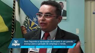 Faguinho apoia doação de terreno para implantação de popa de frutas em Quixeré