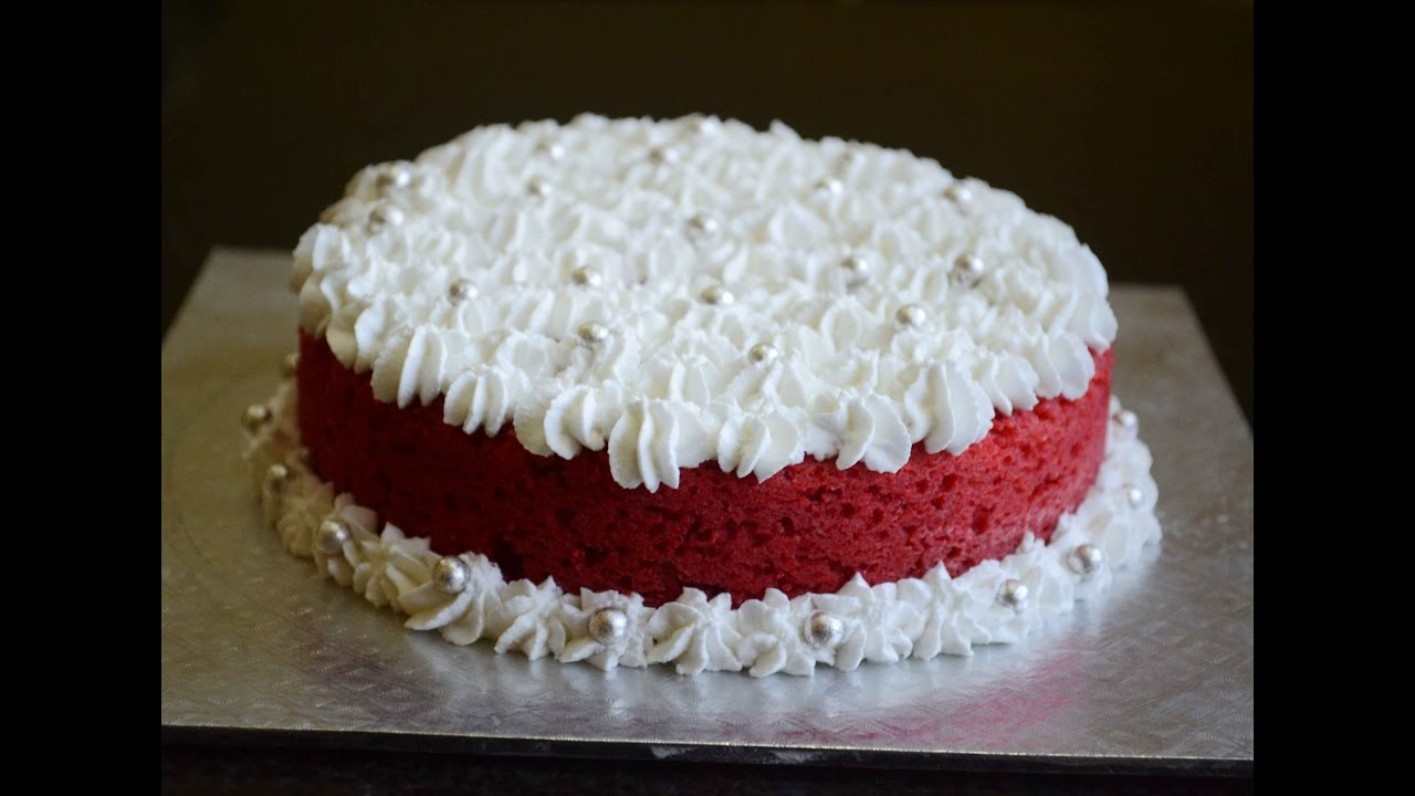 How To Make Red Velvet Cake Eggless