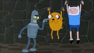 Futurama & Adventure Time mini crossover