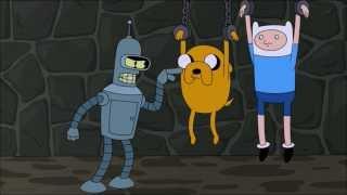 Futurama & Adventure Time mini crossover