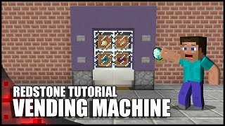 Video Minecraft: Working Vending Machine! download MP3, 3GP, MP4, WEBM, AVI, FLV Desember 2017