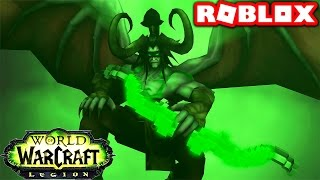 SECRET WORLD OF WARCRAFT BOSSES IN ROBLOX! (Roblox World of Warcraft)