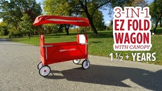 3-in-1 EZ Fold Wagon with Canopy