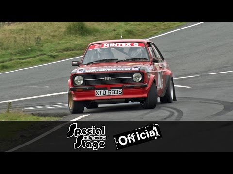 2016 British Historic Rally Championship Round 5 - Harry Fla