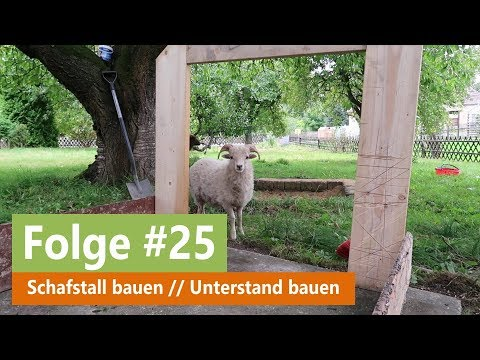 Land.Leben! #25 // Schafstall bauen // Unterstand bauen // Teil 1
