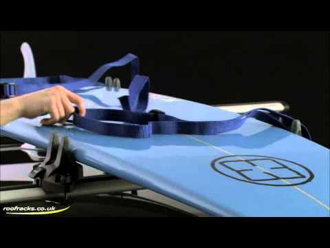 Thule 832 Surfboard Carrier Roof Racks, Roof Boxes, Cycle Carriers for Cars, Vans, SUV, 4x4