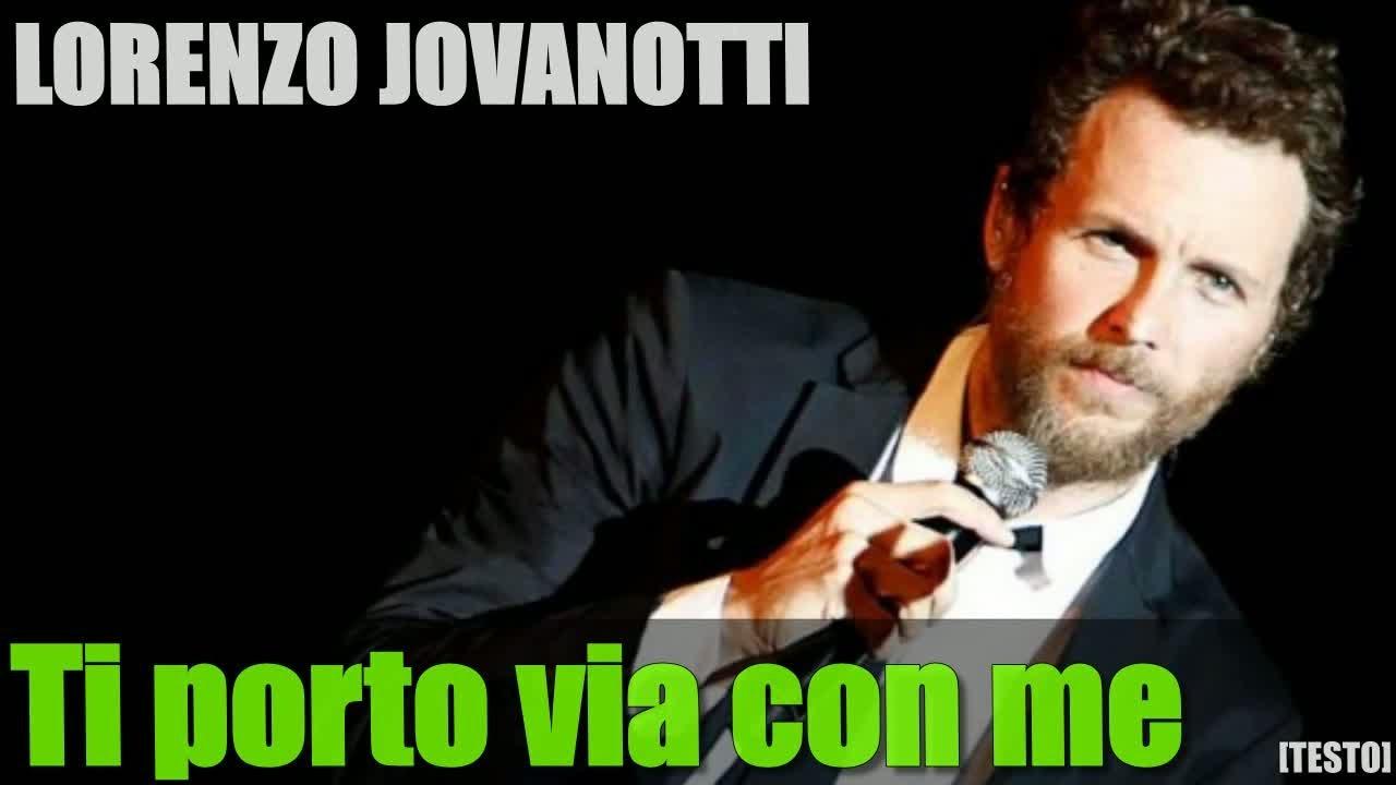 Lorenzo jovanotti ti porto via con me testo album for Cd lorenzo jovanotti