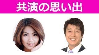 以前に、ドラマで共演した飯島直子さんとのキスシーンの思い出から、撮...