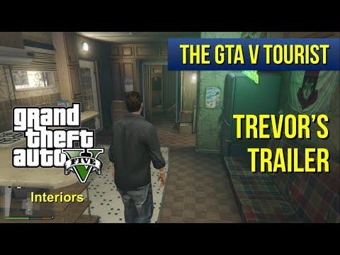 The GTA V Tourist: Trevor's Trailer (Dirty vs Clean)