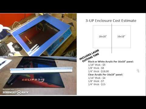 Enclosures (3Dprinted life fans)