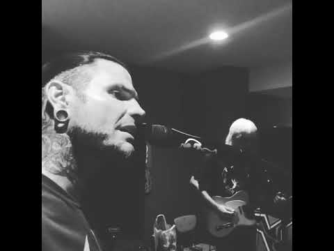 Jeff Hardy singing his old theme song No More Words