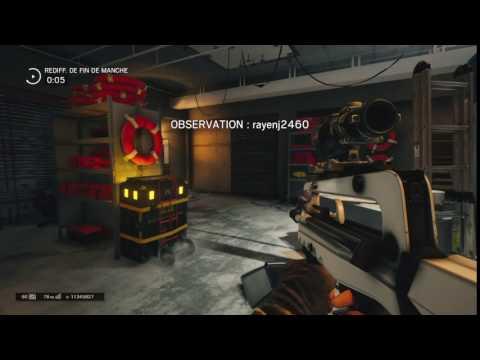 R6S : turn dropshoot avec twitch ( 100 de sensibilite)
