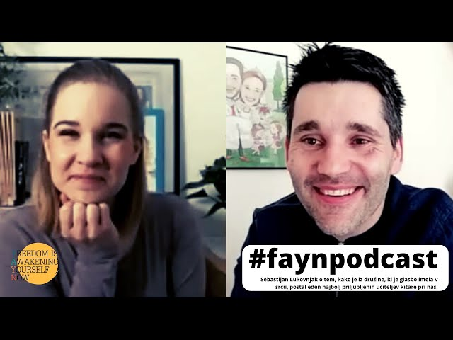 F.A.Y.N. podcast z Majo Monrue: Sebastijan Lukovnjak, o odrih, delu na vrtu in vzgoji otrok
