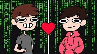 Internet-Freunde...