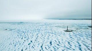 Drone Grand Tour- Lighthouse at the frozen sea. Kyiv Ukraine. Маяк у замерзшого моря(, 2017-01-28T21:13:47.000Z)
