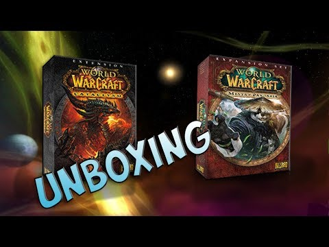 UNBOXING - WORLD OF WARCRAFT -  Pandaria and Cataclysm /OLD BUT GOLD/