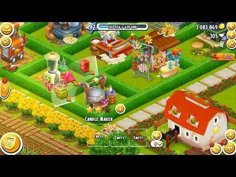 Hay Day Level 92 Update 14 HD 1080p