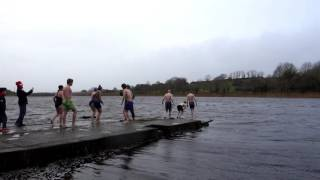 Castlebar Annual Christmas Day swim 2016