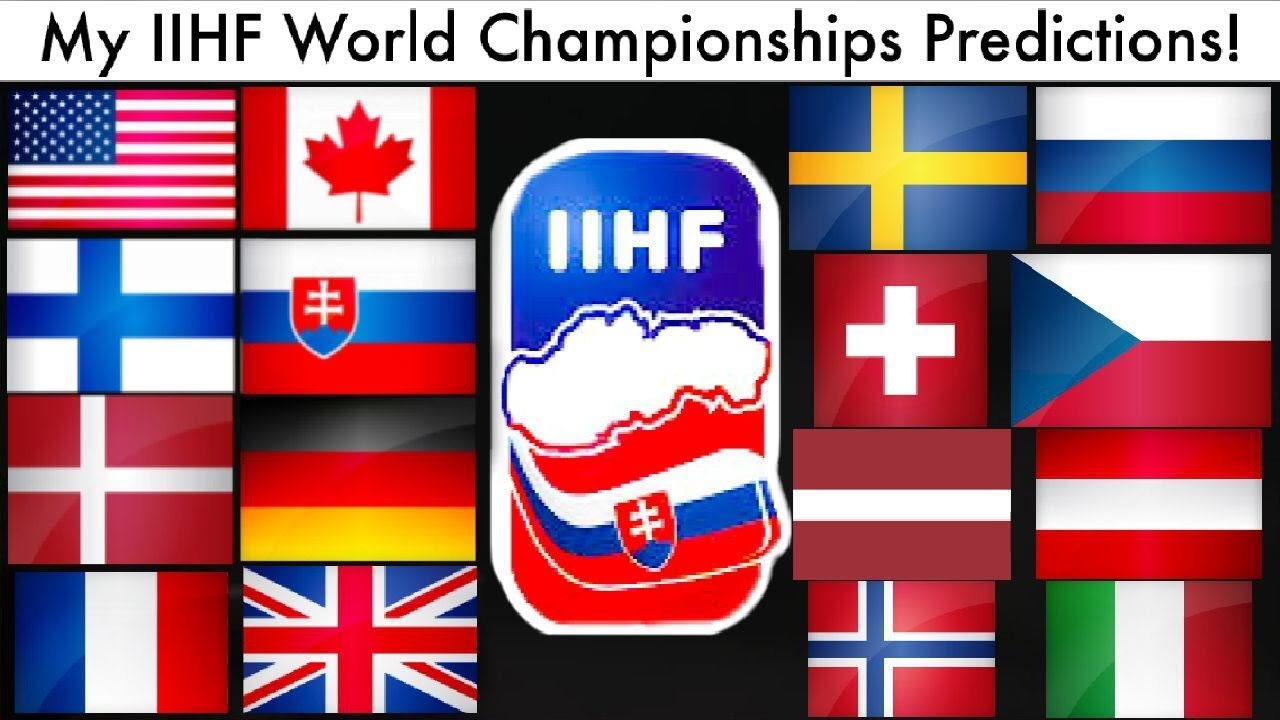 My Iihf 2019 World Championship Predictions Wc Hockey Tournament