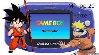 Mi Top 20 Juegos De GameBoy Advance Parte 1