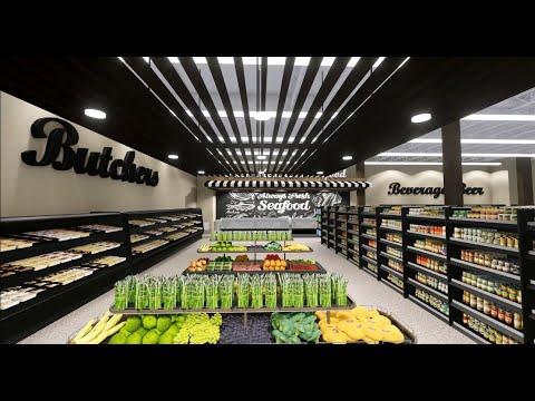 SuperMarket Design, New Britain, Connecticut - MeNez Architecture