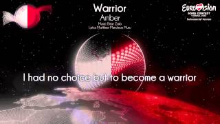 "Amber - ""Warrior"" (Malta) - [Instrumental version]"