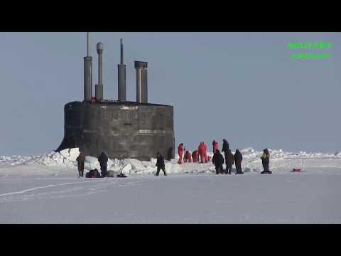 How a Nuclear-Submarine Crashes Through Arctic Circle Ice
