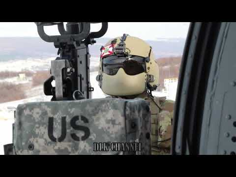 U.S. Army Helicopter Door Gunners Learn How To Shoot