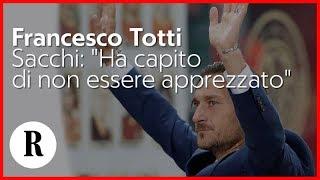 Totti lascia la Roma, Sacchi: