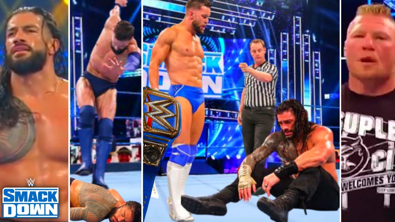 WWE SmackDown 30th July 2021 Highlights, Finn wins Championship to Roman Reigns,Braun, Brock returns