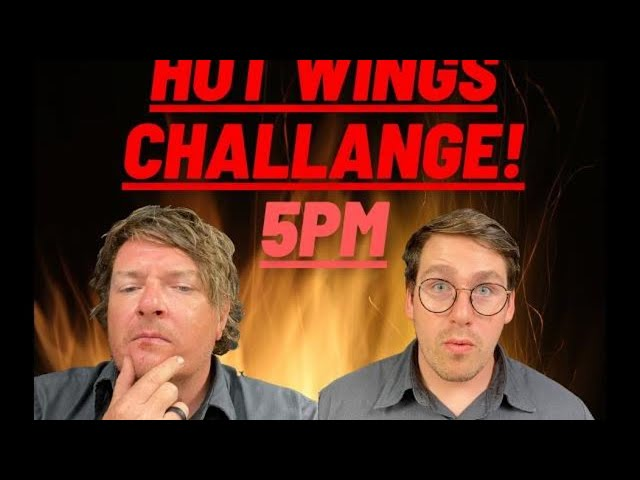 Meet Marshall in our Hot Wing Challenge