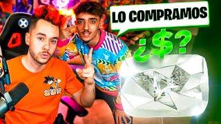 COMPRO EL BOTÓN DE DIAMANTE DE YOUTUBE ¿CUÁNTO VALE? - TheGrefg