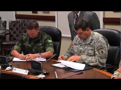 U.S. - Brazil Army Staff Talks