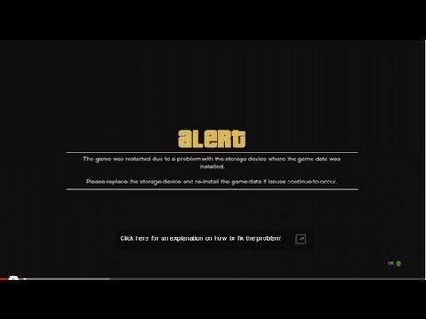 GTA 5 Storage Alert FIXED!