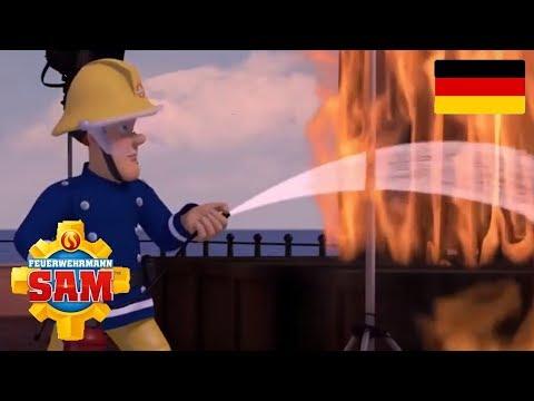Feuerwehrmann Sam Deutsch Neue Folgen   Mikes Rakete 🚒 Feuerwehrmannschaft   Kinder Cartoon