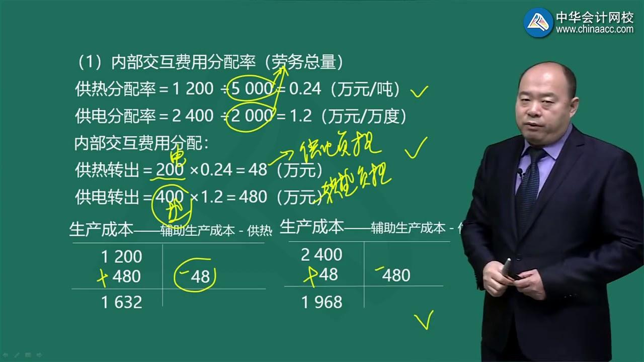 2020 初级会计实务 第七章 管理会计基础 06 中华会计网校 赵玉宝