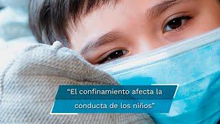 Aislamiento y frustración, enojo, depresión y ansiedad, son algunos de los problemas que han detectado los especialistas en la población infantil durante el confinamiento generado por la pandemia de Covid-19.  www.eluniversalpuebla.com.mx