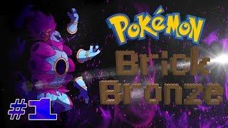 ROBLOX Malaysia Pokémon Brick Bronze || Wuahh BEST Gilerr~!! Pengembaraan BARUU!! Yeahh~!! #1