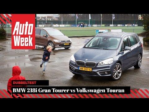 BMW 218i Gran Tourer Vs VW Touran - English Subtitled - AutoWeek Review