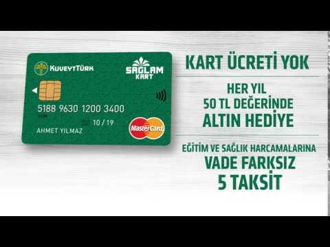 Sağlam Kart - Kredi Kartı Dediğin