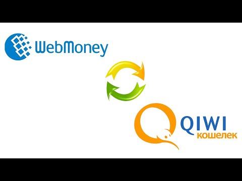 Как перевести деньги с Webmoney на Qiwi / Обменять вебмани на киви