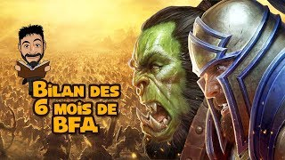 Battle for Azeroth : bilan des 6 mois