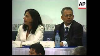 Oas Ga Opens, Comments On Cuba, Finance Crisis