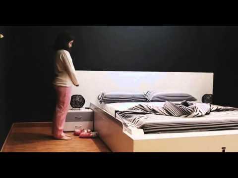 """OHEA Smart Bed Makes Itself  (music: """"Thus Spoke Zarathustra"""")"""
