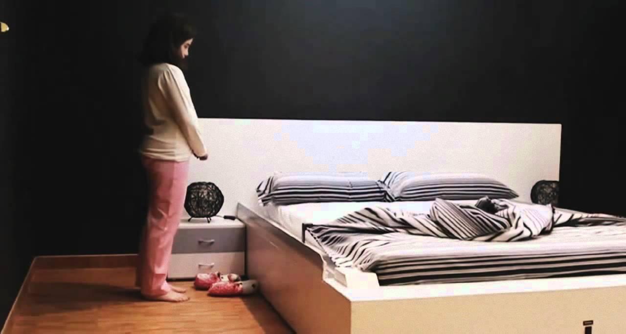 Amazing OHEA Smart Bed Makes Itself (music:  Photo Gallery