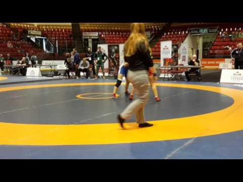 2016 Canadian Senior Championships: 48 kg Final Allyssa Cleaves vs. Natasha Kramble