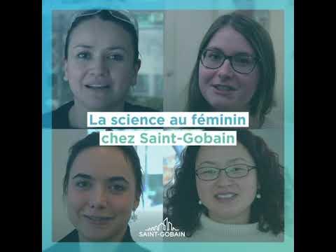 La science au féminin chez Saint-Gobain